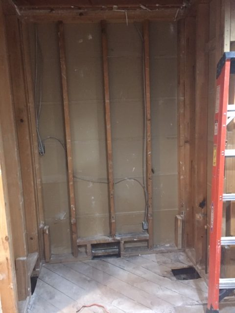Shower Space Bathroom Demo